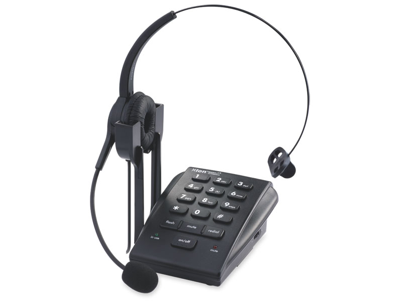 VF630 坐席耳麦电话