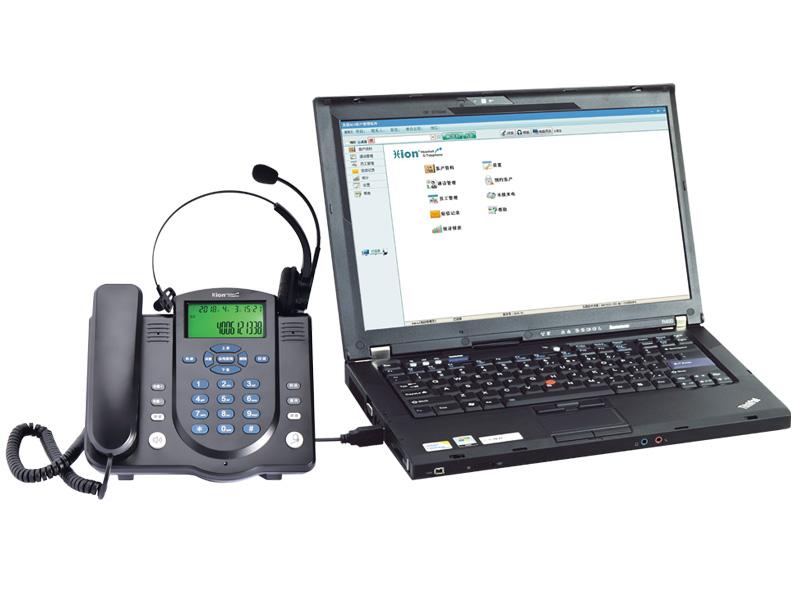 U860 电脑弹屏/录音电话耳机
