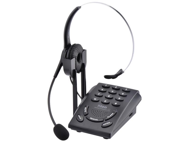 VF600 呼叫中心耳麦电话